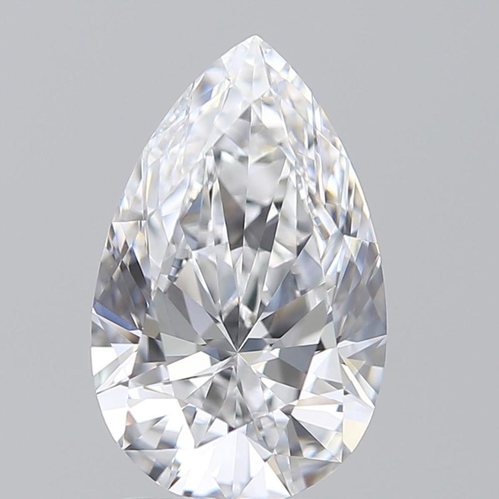 1.90 Carat Pear Loose Diamond, D, IF, Super Ideal, GIA Certified