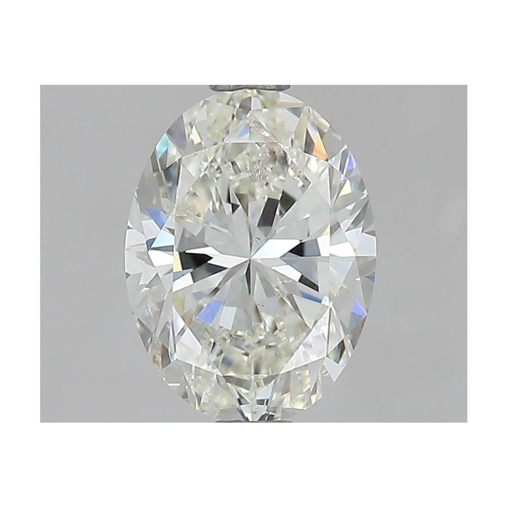 1.70 Carat Oval Loose Diamond, J, SI2, Excellent, GIA Certified