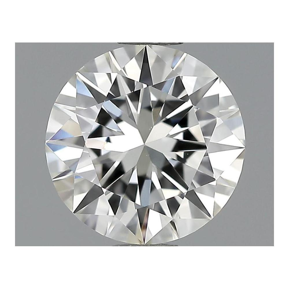 1.03 Carat Round Loose Diamond, I, IF, Excellent, GIA Certified