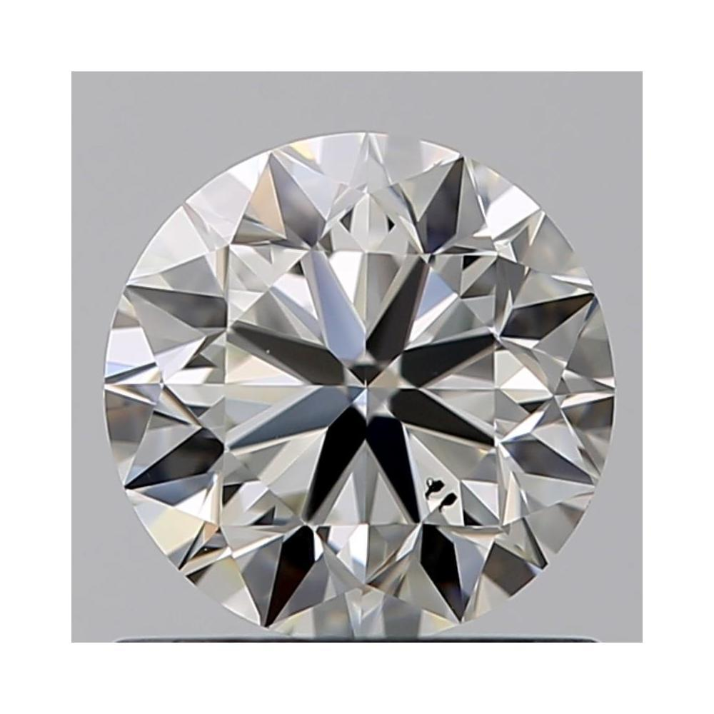 0.80 Carat Round Loose Diamond, I, SI1, Excellent, GIA Certified
