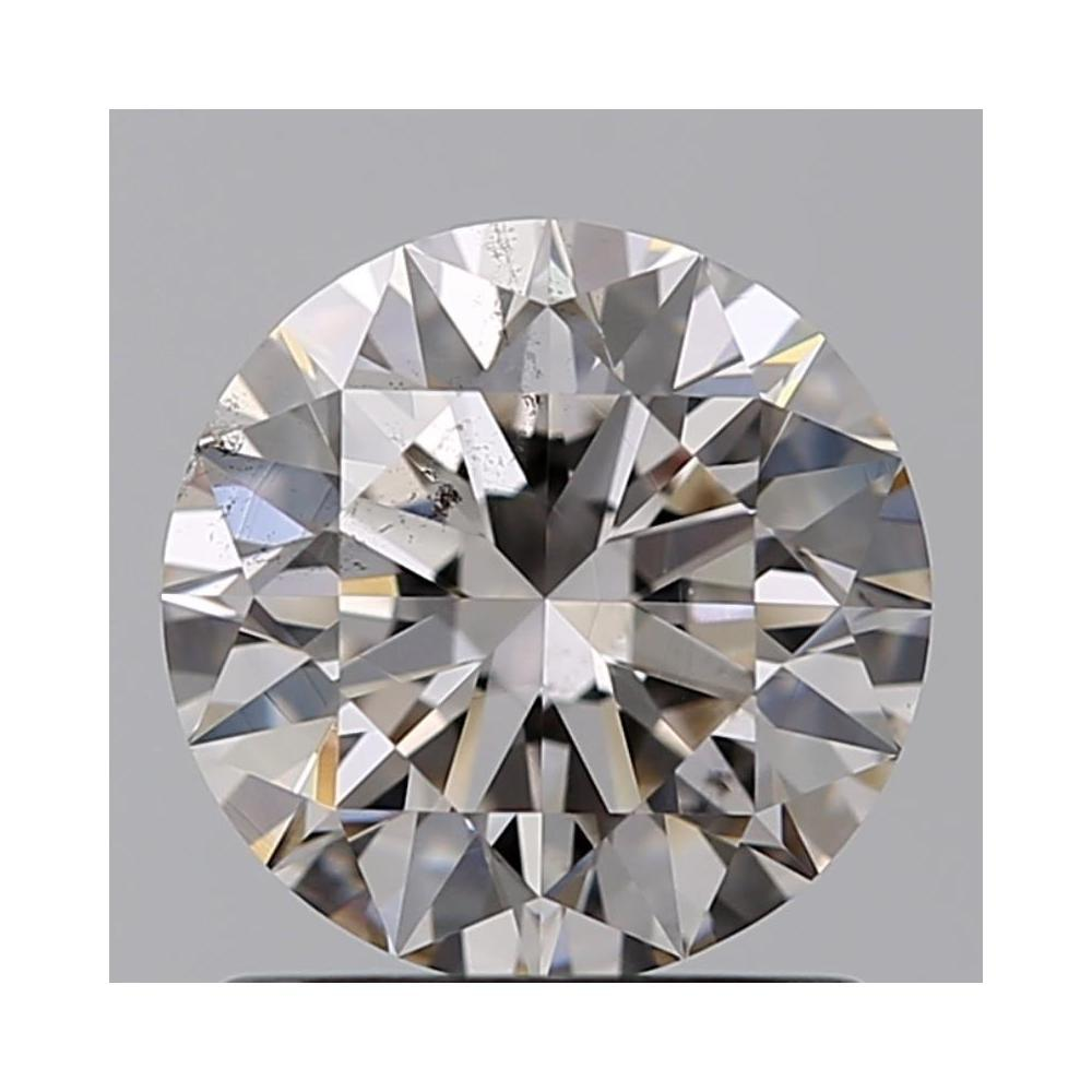 1.11 Carat Round Loose Diamond, K, SI1, Super Ideal, GIA Certified