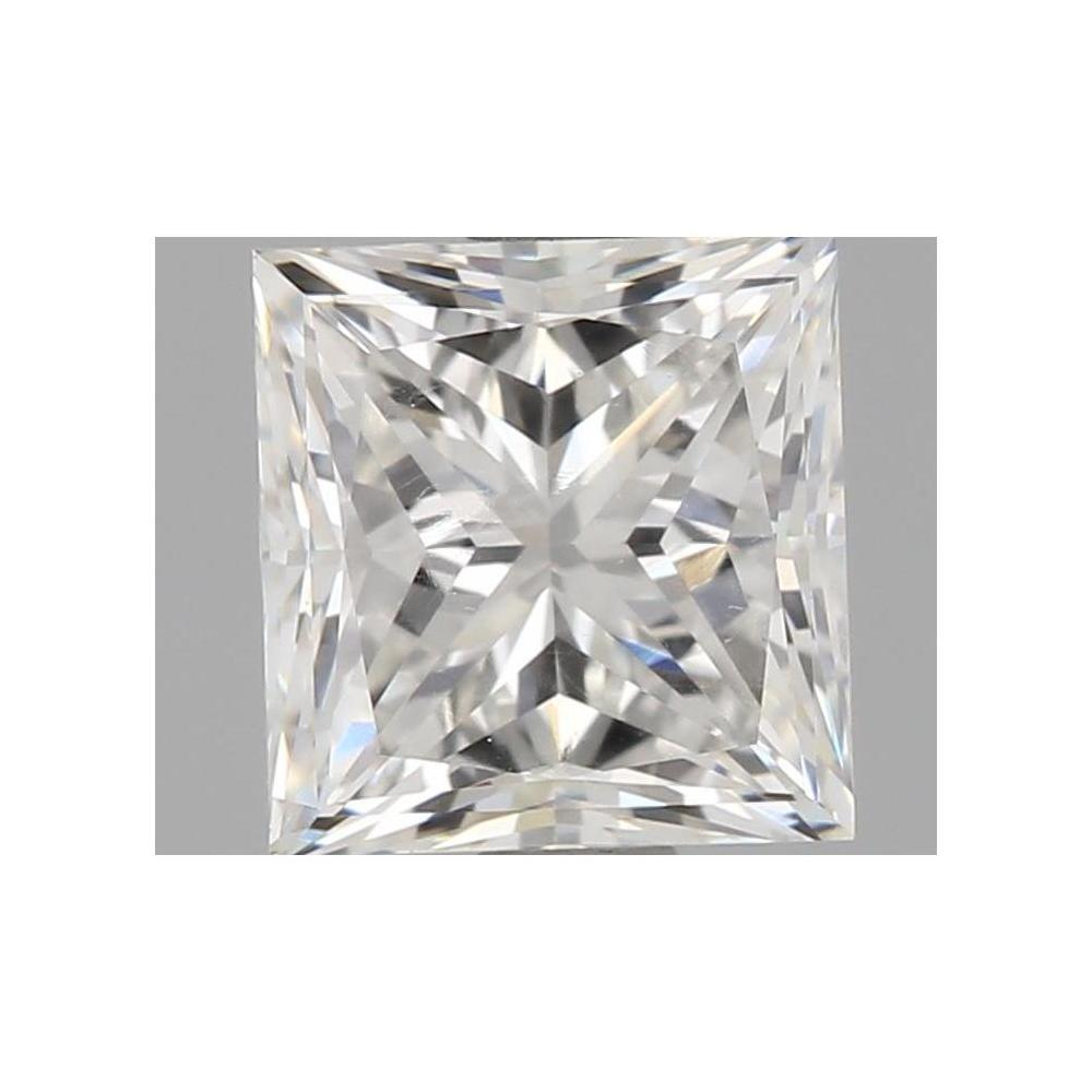 1.00 Carat Princess Loose Diamond, G, VVS1, Excellent, GIA Certified