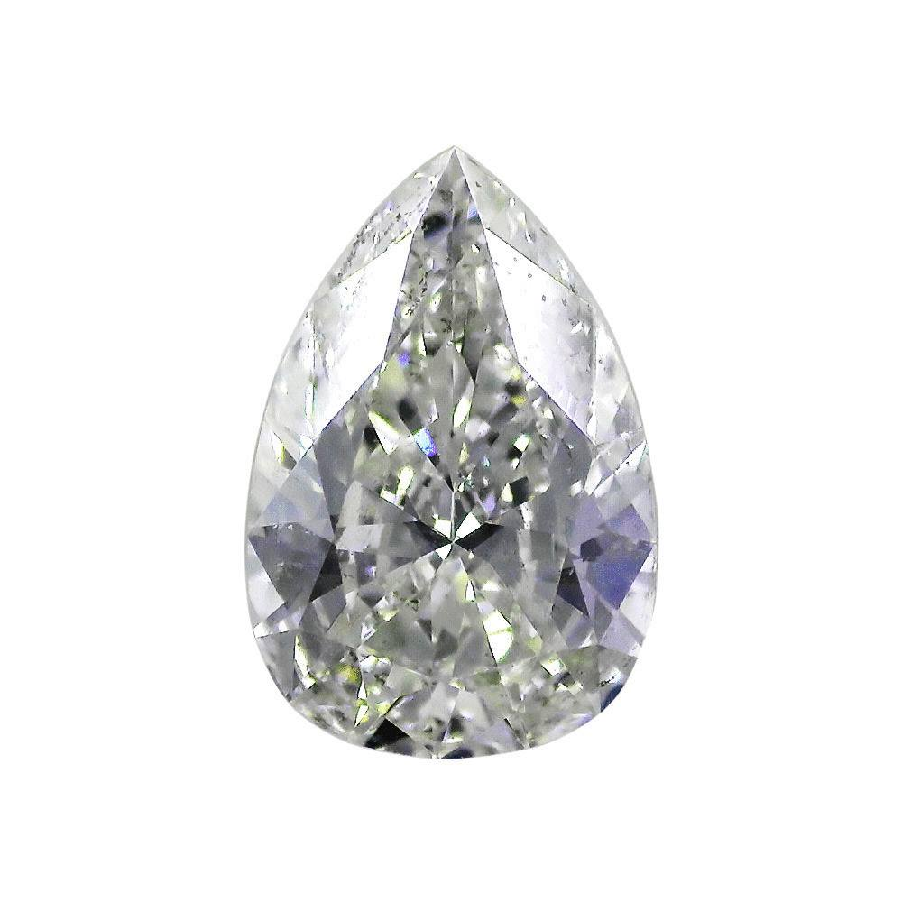 2.01 Carat Pear Loose Diamond, G, SI2, Ideal, GIA Certified | Thumbnail