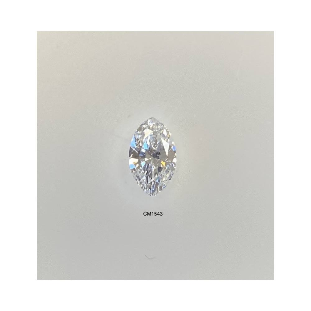 0.50 Carat Marquise Loose Diamond, F, VVS1, Ideal, GIA Certified
