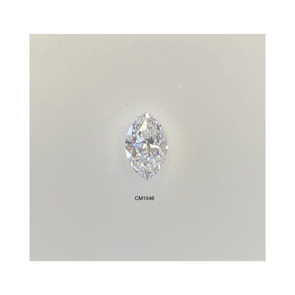 0.48 Carat Marquise Loose Diamond, D, SI1, Very Good, GIA Certified