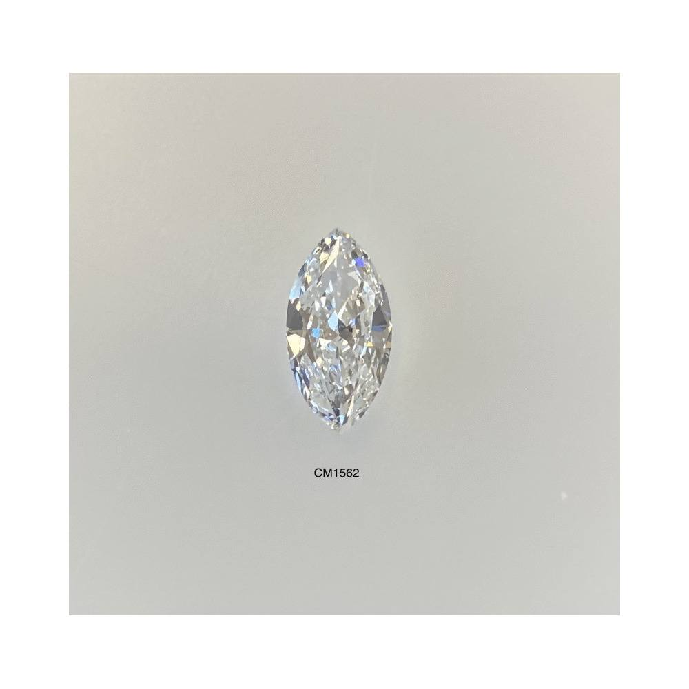 1.00 Carat Marquise Loose Diamond, F, VS2, Excellent, GIA Certified