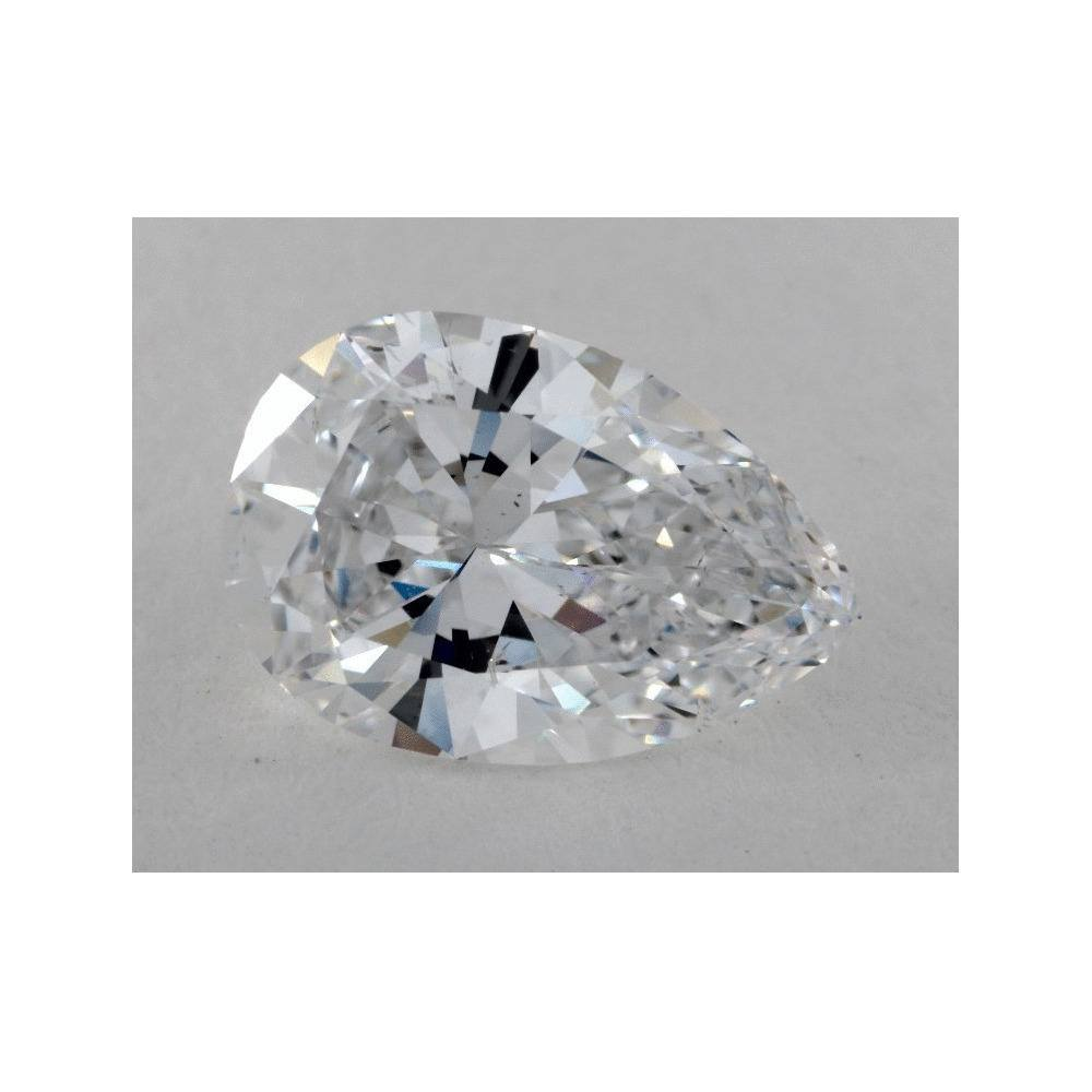 2.11 Carat Pear Loose Diamond, D, SI1, Ideal, GIA Certified