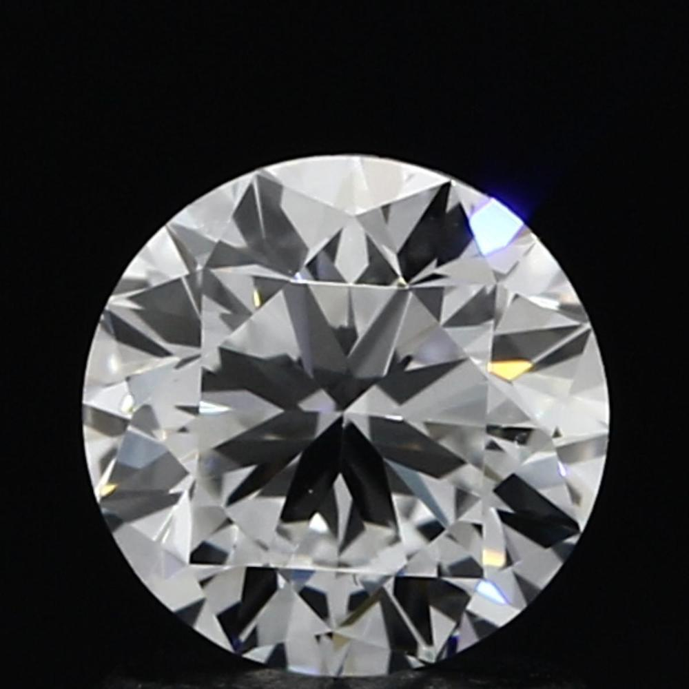 1.01 Carat Round Loose Diamond, F, VS1, Ideal, GIA Certified