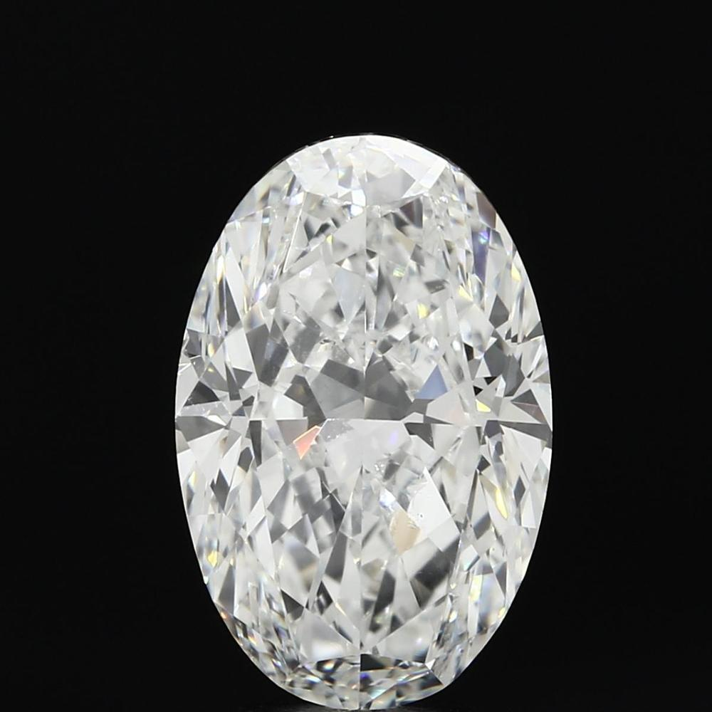 5.02 Carat Oval Loose Diamond, F, VS2, Ideal, GIA Certified | Thumbnail