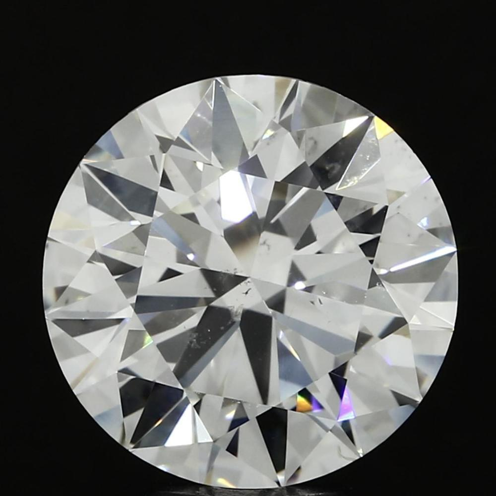 5.08 Carat Round Loose Diamond, I, SI1, Super Ideal, GIA Certified | Thumbnail
