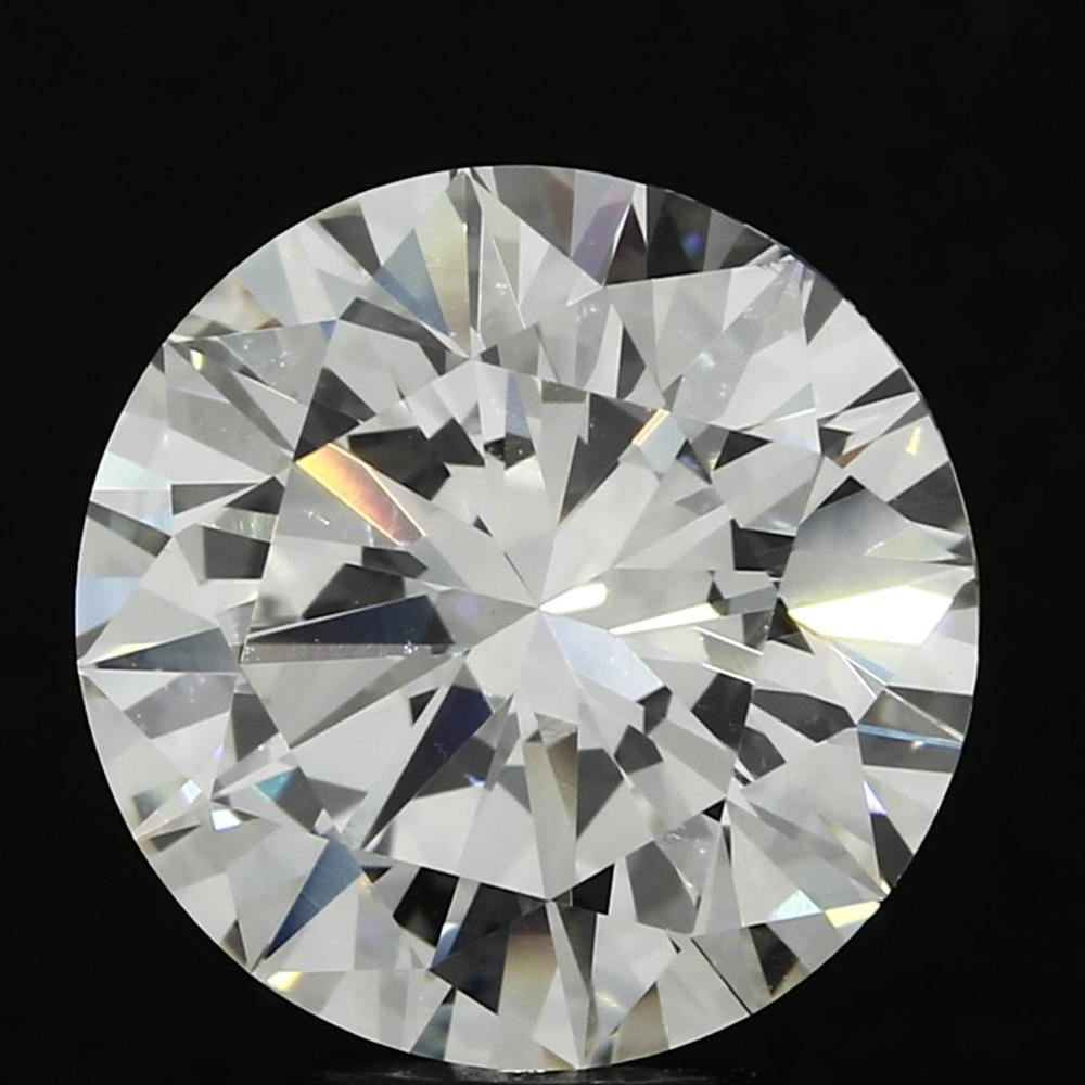5.14 Carat Round Loose Diamond, I, VVS2, Super Ideal, GIA Certified