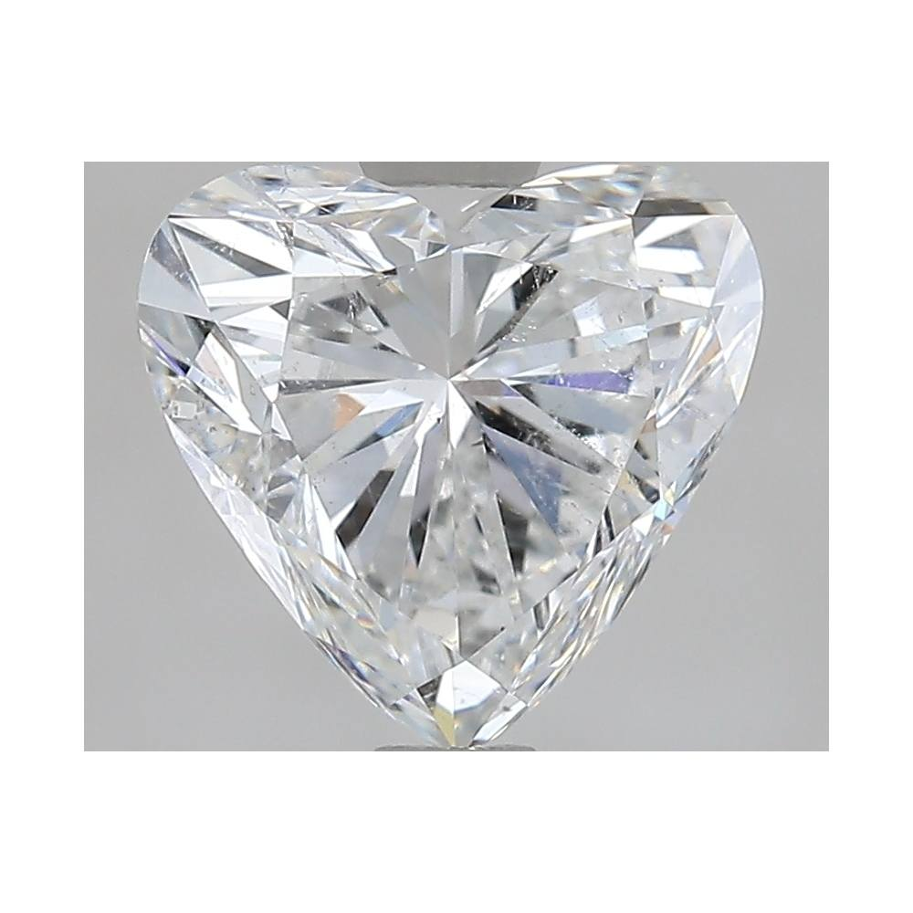 2.00 Carat Heart Loose Diamond, G, SI2, Ideal, GIA Certified