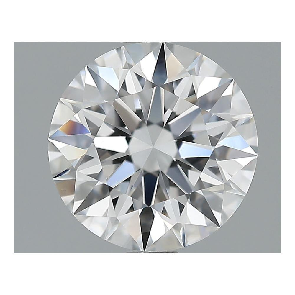2.35 Carat Round Loose Diamond, D, VVS2, Super Ideal, GIA Certified