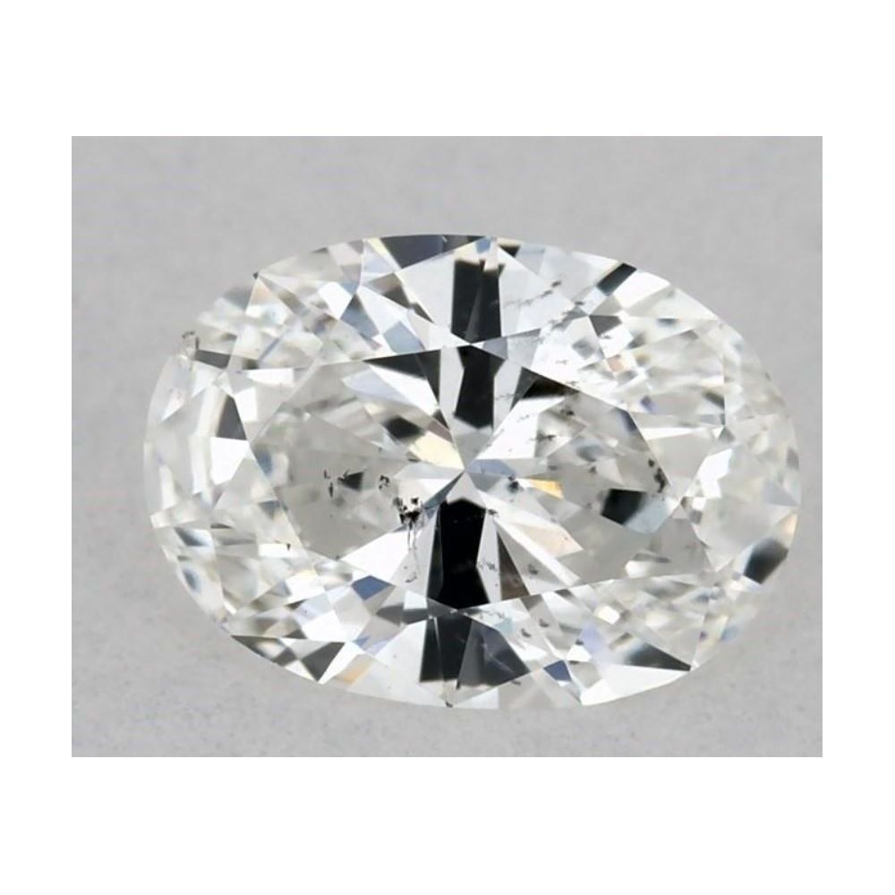 0.32 Carat Oval Loose Diamond, F, SI2, Ideal, GIA Certified | Thumbnail