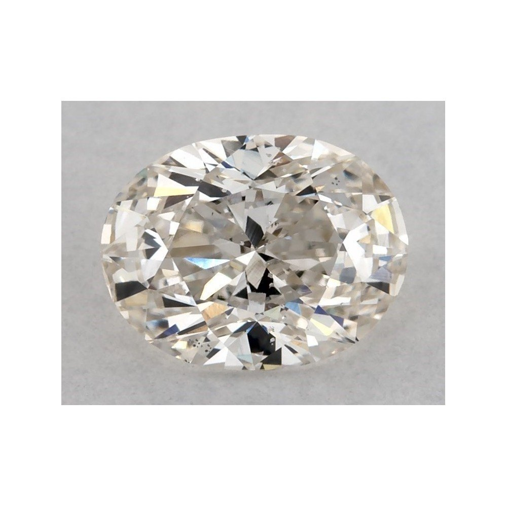 0.74 Carat Oval Loose Diamond, I, SI1, Excellent, GIA Certified