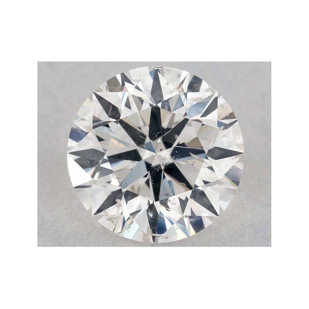 0.70 Carat Round Loose Diamond, F, I1, Ideal, GIA Certified | Thumbnail