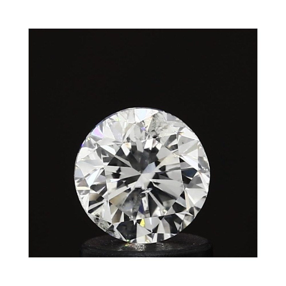 1.00 Carat Round Loose Diamond, H, SI2, Good, GIA Certified | Thumbnail