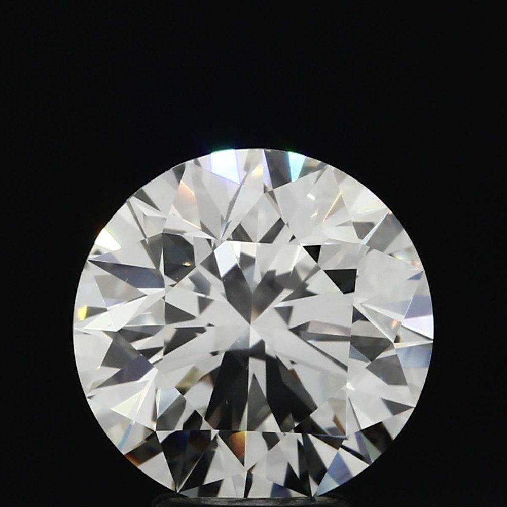 4.50 Carat Round Loose Diamond, K, VVS1, Super Ideal, GIA Certified