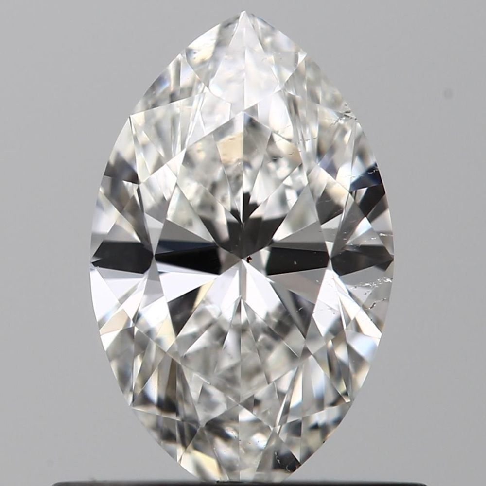 0.51 Carat Marquise Loose Diamond, F, SI1, Super Ideal, GIA Certified