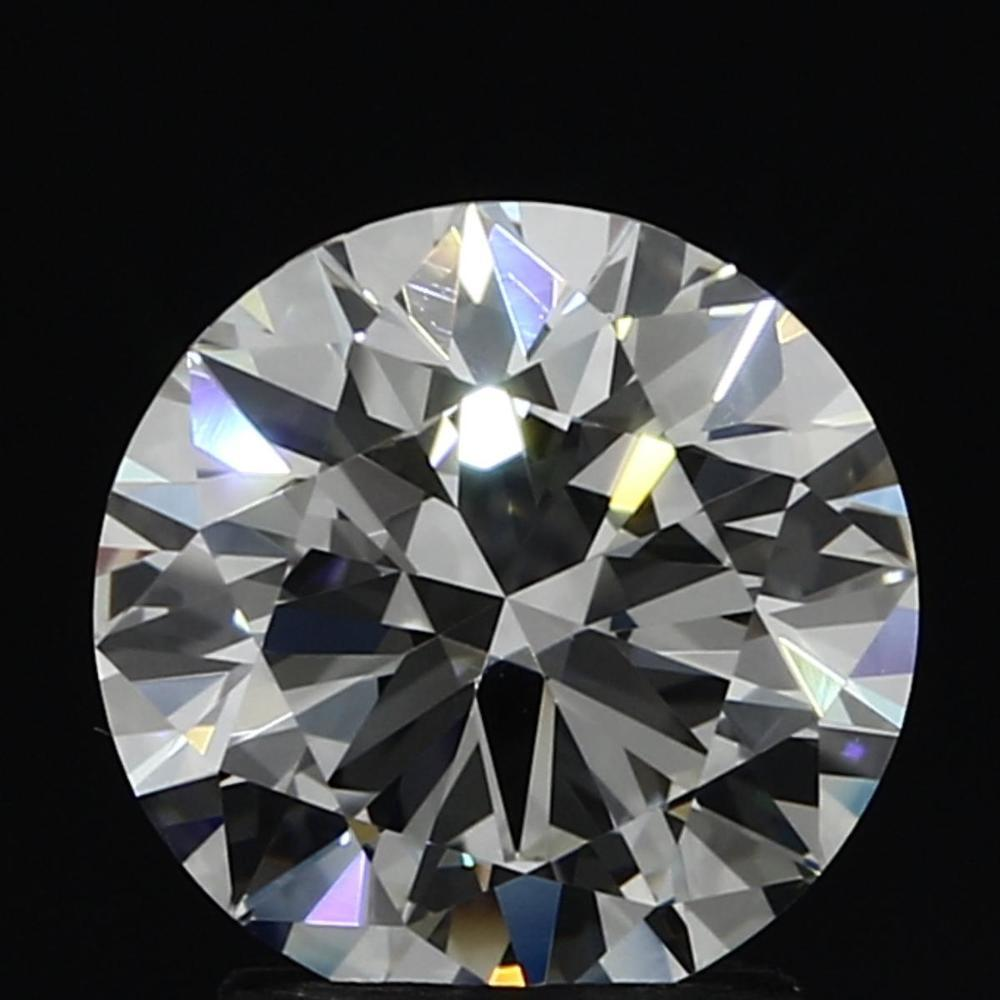 2.05 Carat Round Loose Diamond, G, VVS1, Super Ideal, GIA Certified