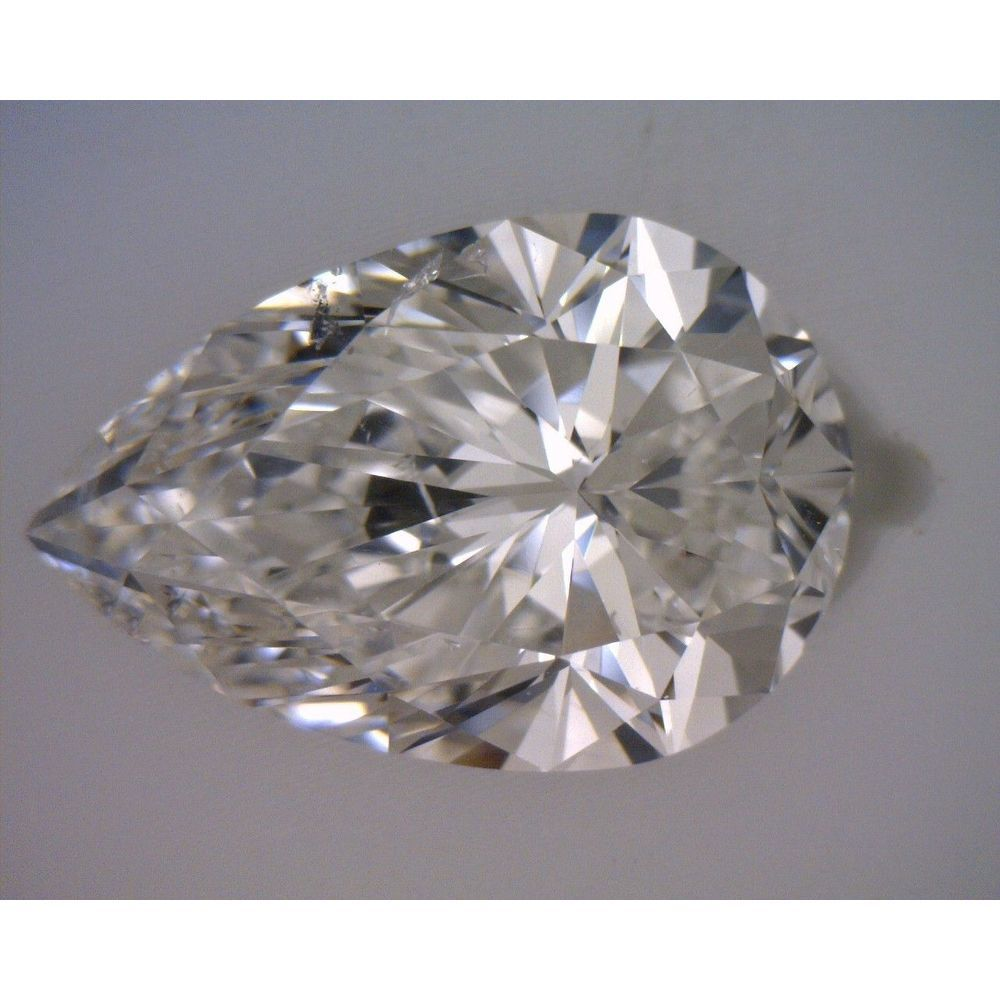 1.70 Carat Pear Loose Diamond, G, SI2, Super Ideal, GIA Certified