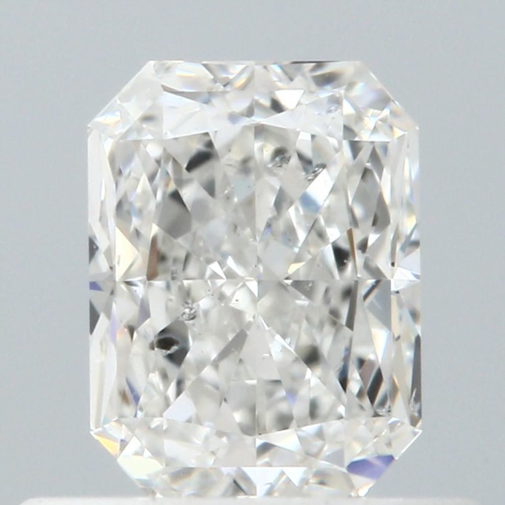 0.50 Carat Radiant Loose Diamond, F, I1, Ideal, GIA Certified
