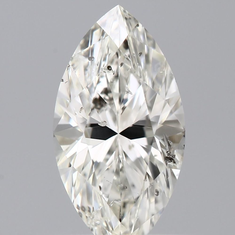 0.61 Carat Marquise Loose Diamond, K, I1, Excellent, GIA Certified