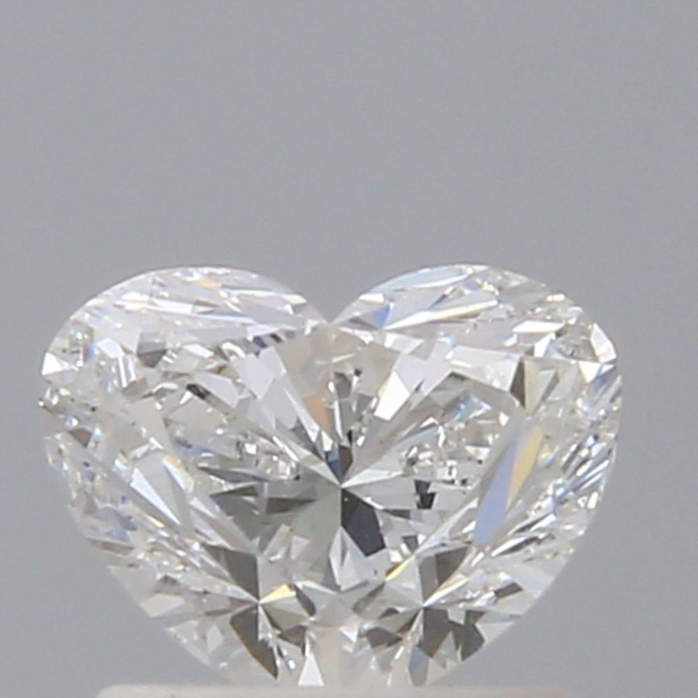 0.90 Carat Heart Loose Diamond, F, VS2, Ideal, GIA Certified | Thumbnail