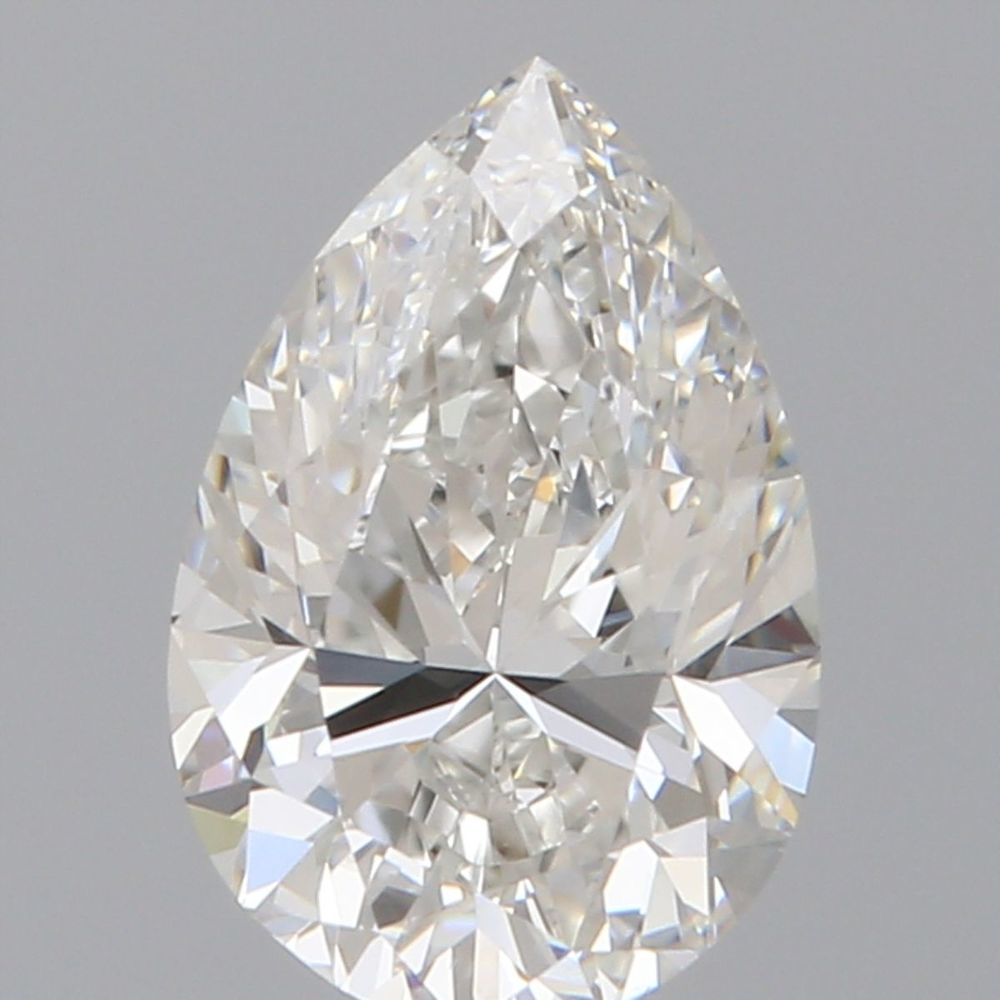 0.70 Carat Pear Loose Diamond, F, VS2, Excellent, GIA Certified