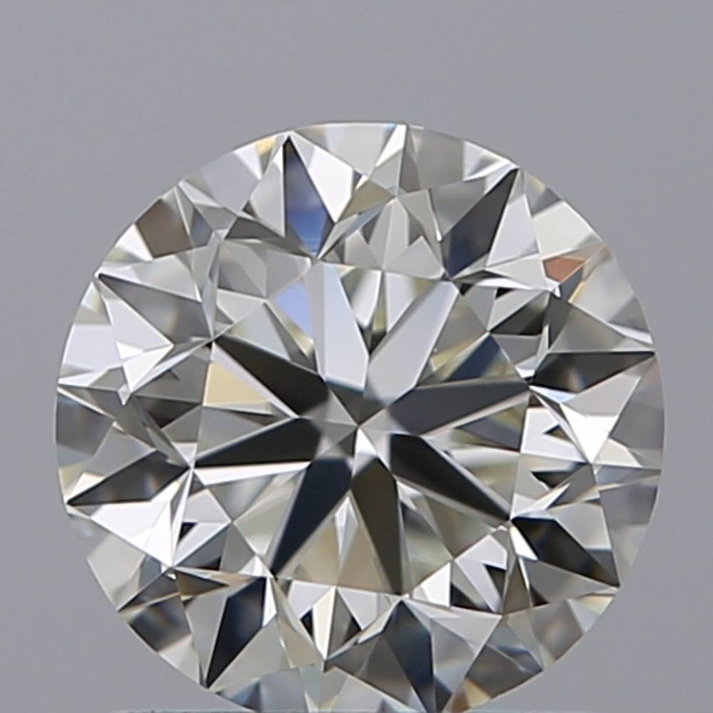 0.53 Carat Round Loose Diamond, F, IF, Super Ideal, GIA Certified