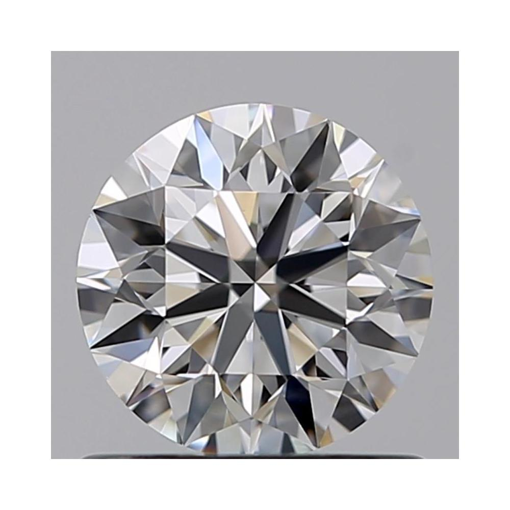 0.73 Carat Round Loose Diamond, F, IF, Super Ideal, GIA Certified