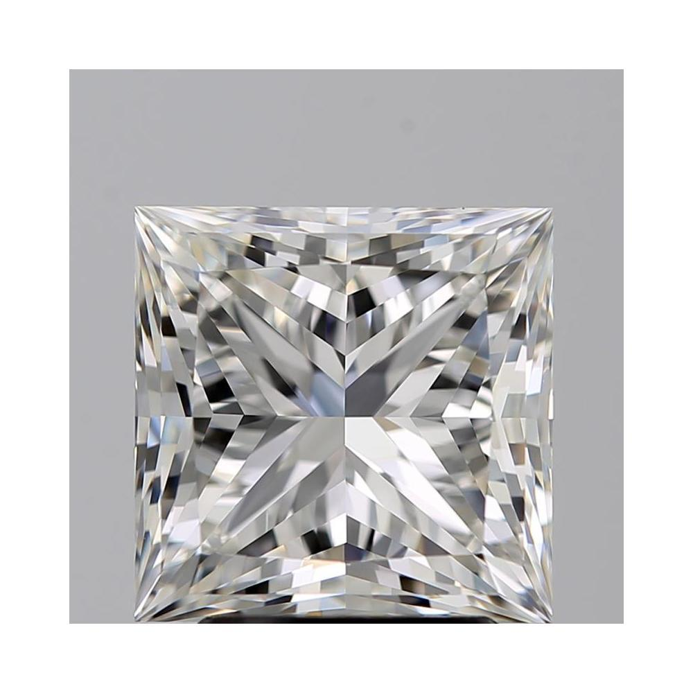 3.02 Carat Princess Loose Diamond, G, VS1, Super Ideal, GIA Certified