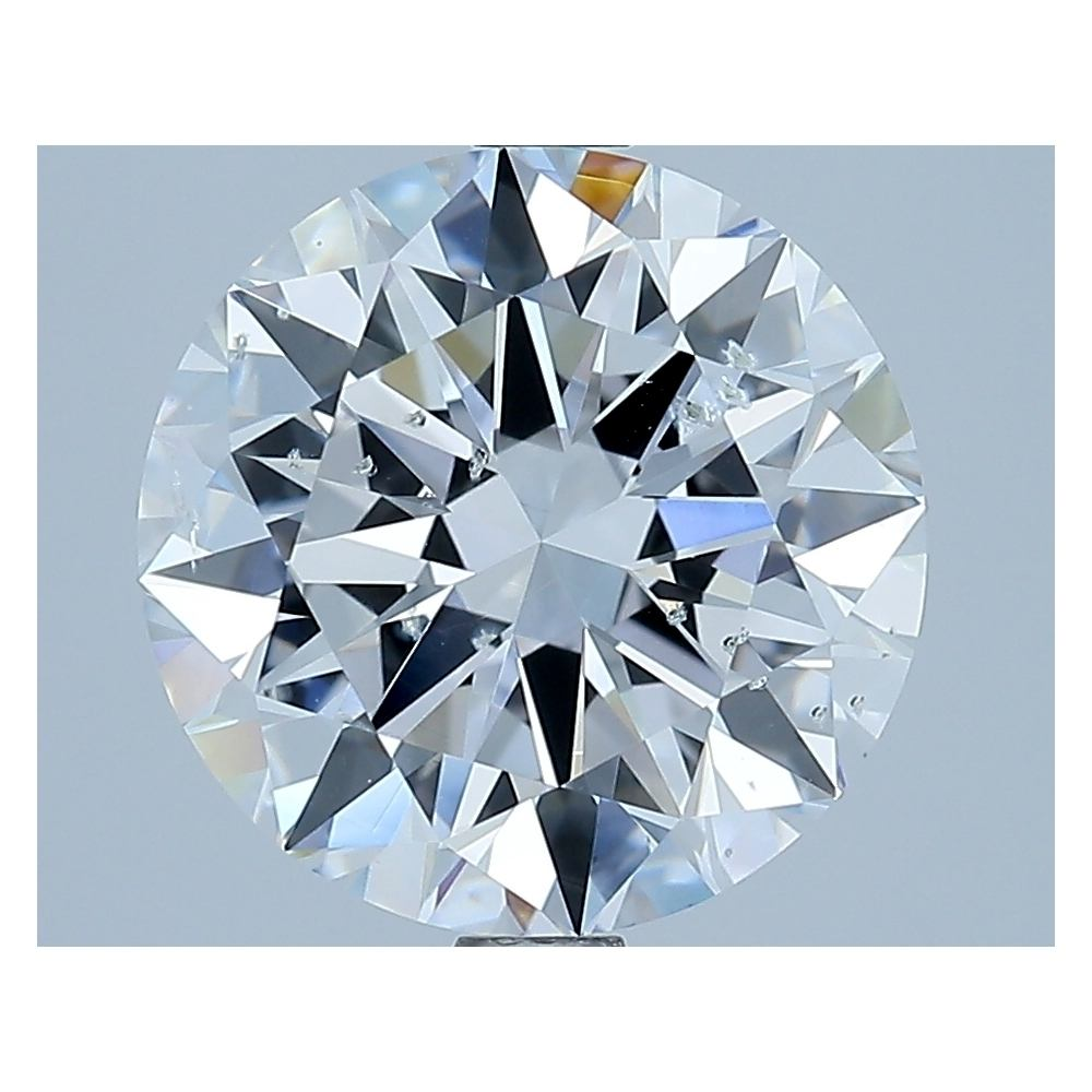 3.01 Carat Round Loose Diamond, D, SI2, Excellent, GIA Certified