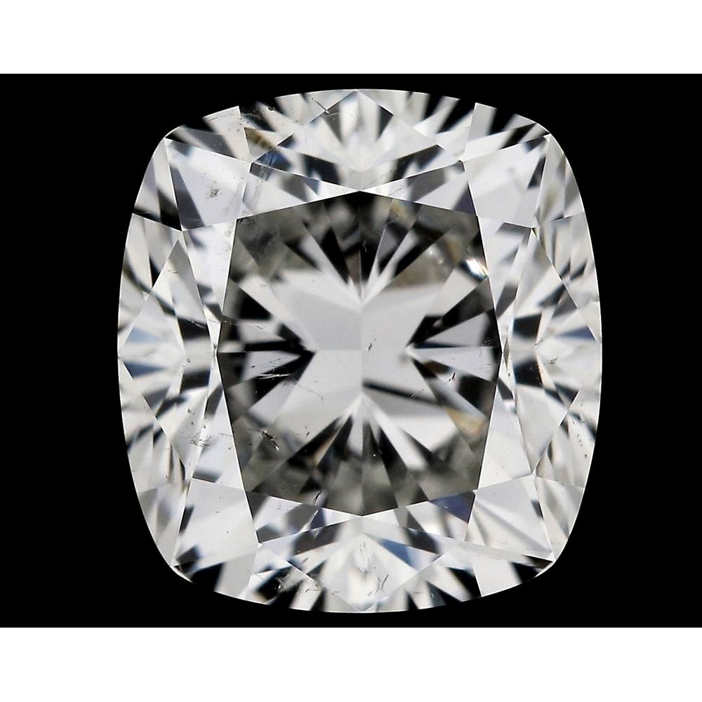 1.53 Carat Cushion Loose Diamond, J, SI2, Excellent, GIA Certified