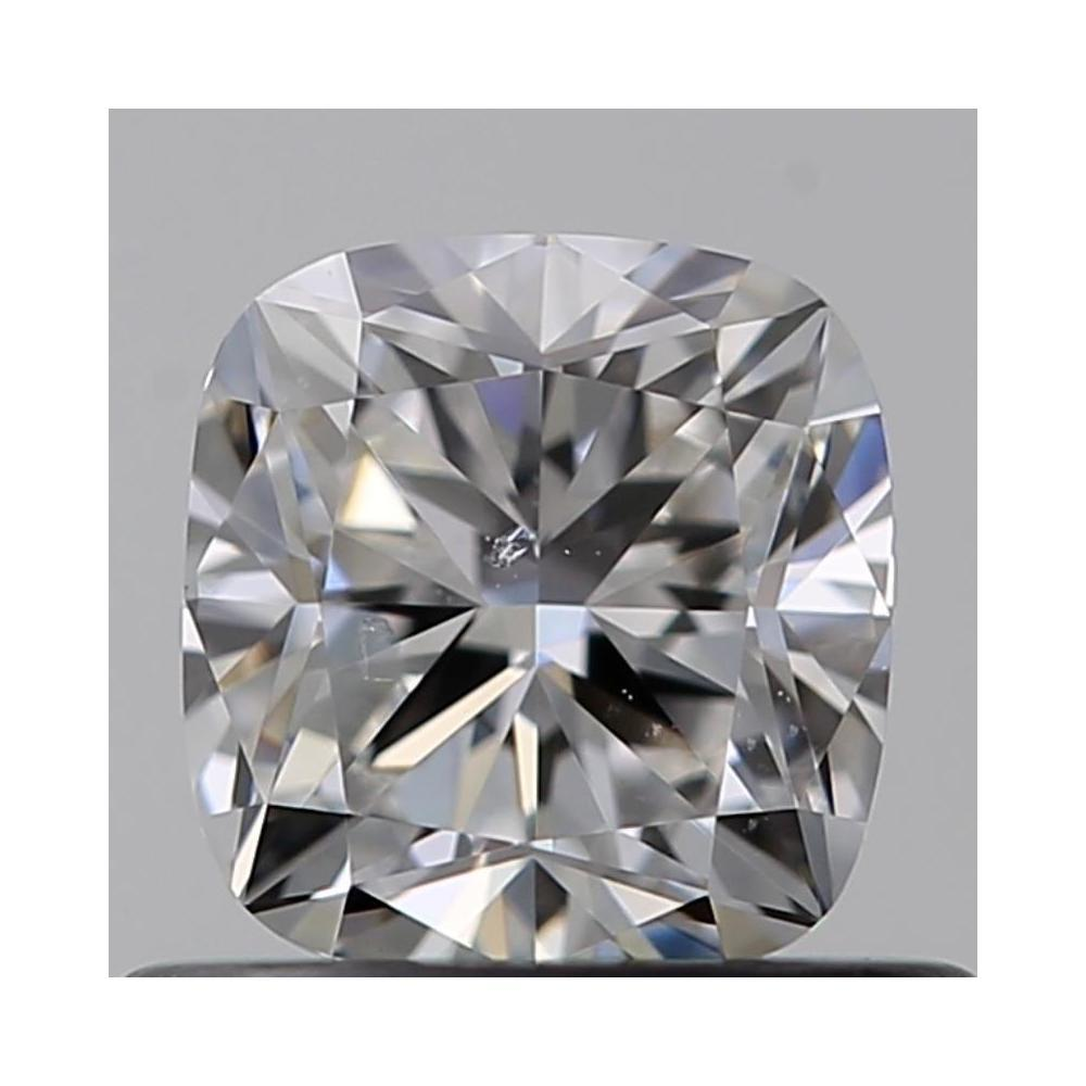 0.54 Carat Cushion Loose Diamond, F, SI1, Excellent, GIA Certified
