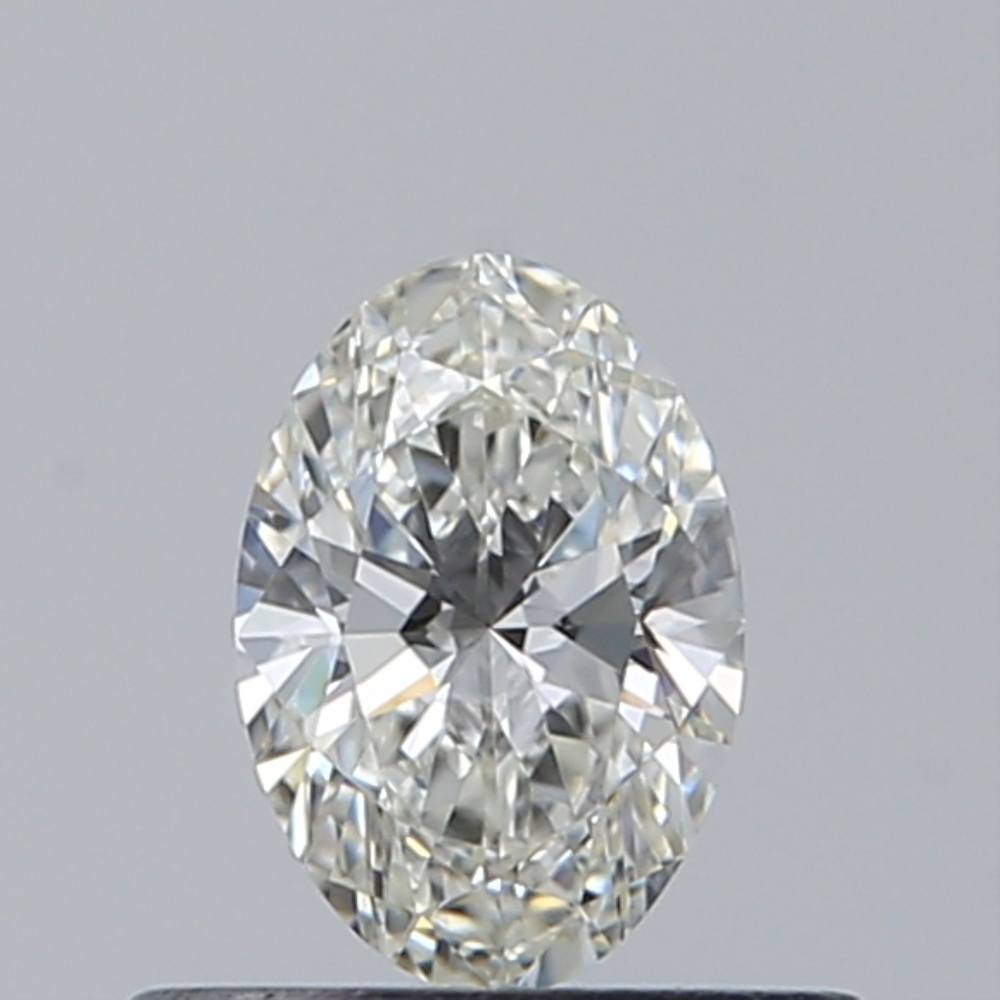 0.33 Carat Oval Loose Diamond, H, IF, Super Ideal, GIA Certified
