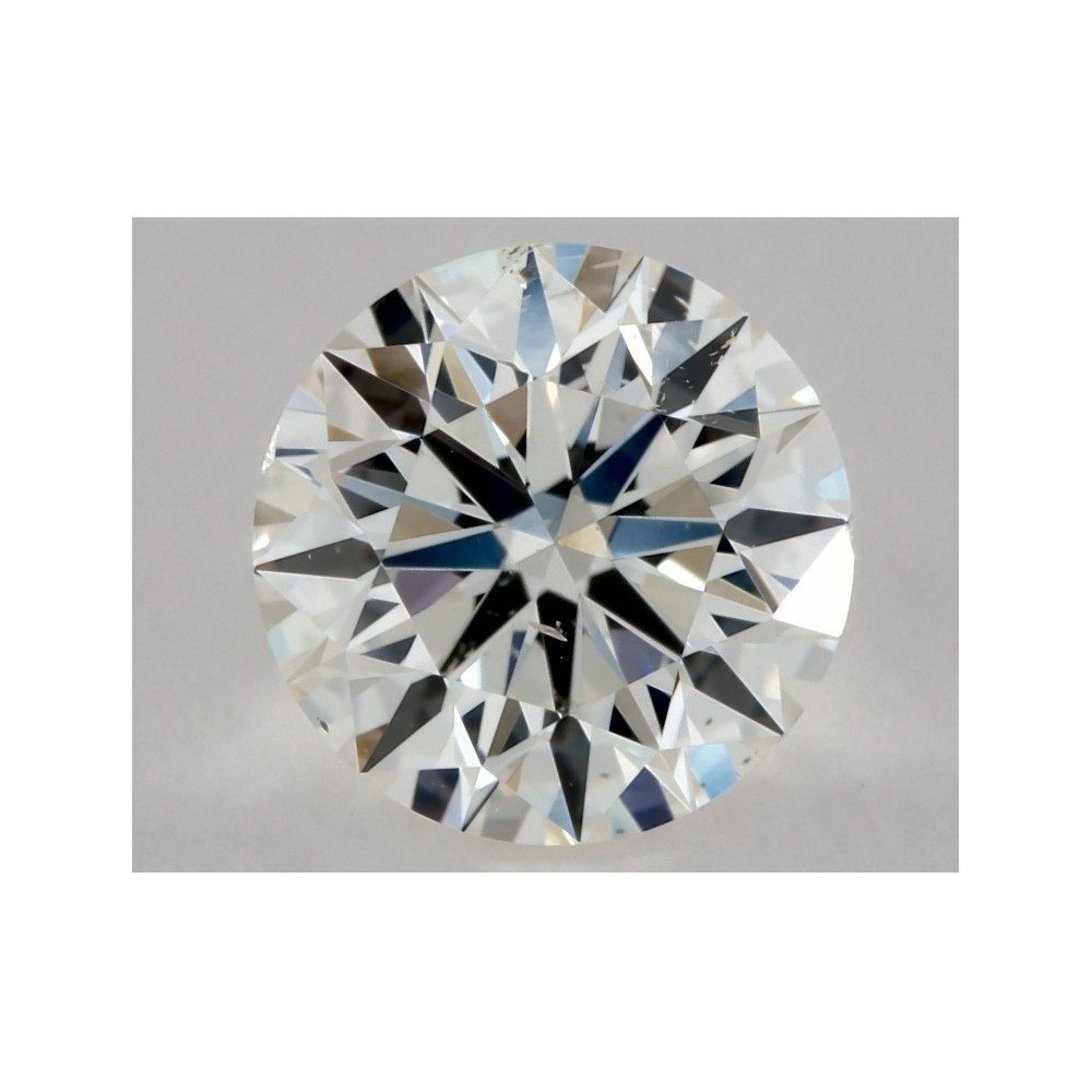 0.70 Carat Round Loose Diamond, I, SI1, Super Ideal, GIA Certified