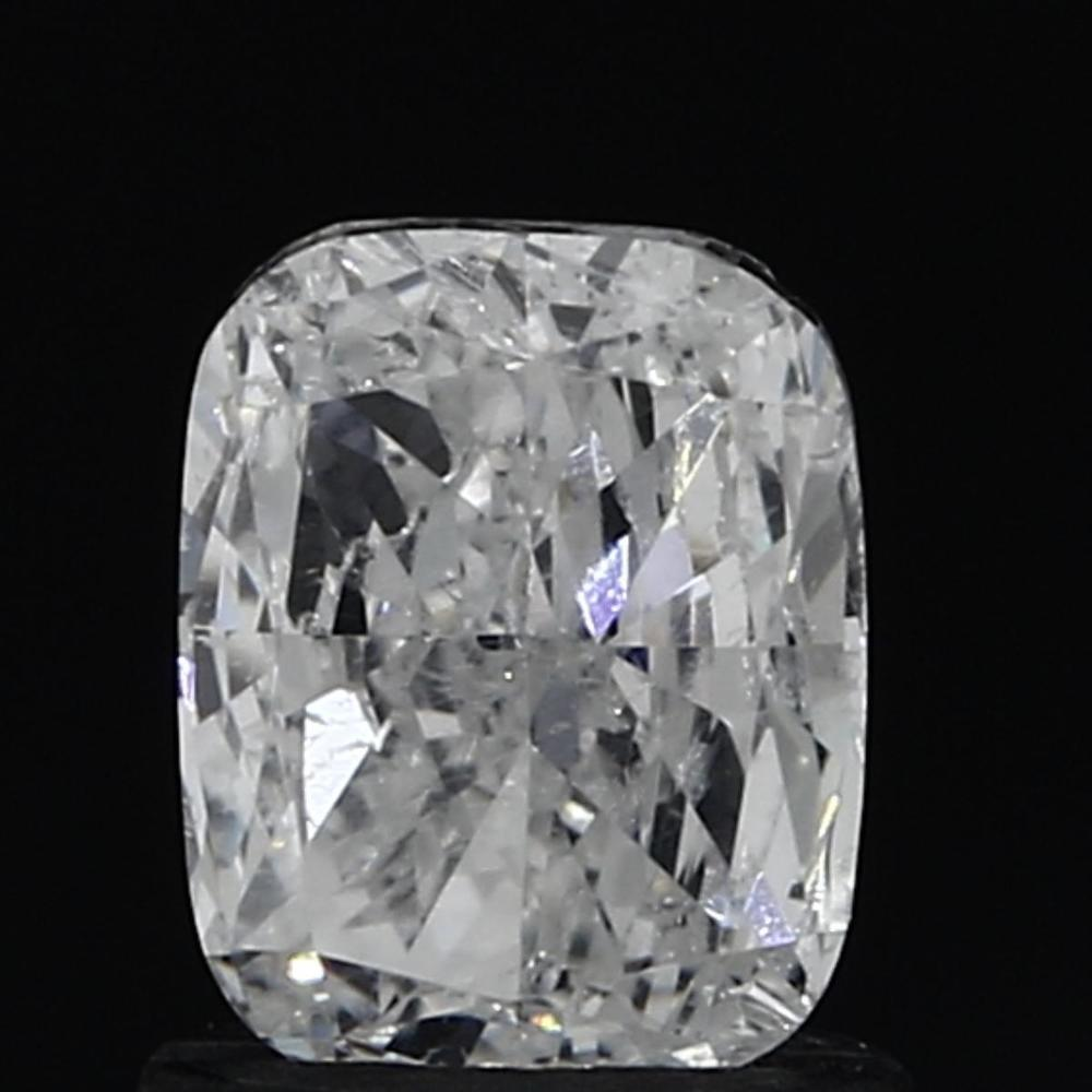 0.91 Carat Cushion Loose Diamond, E, SI2, Very Good, GIA Certified