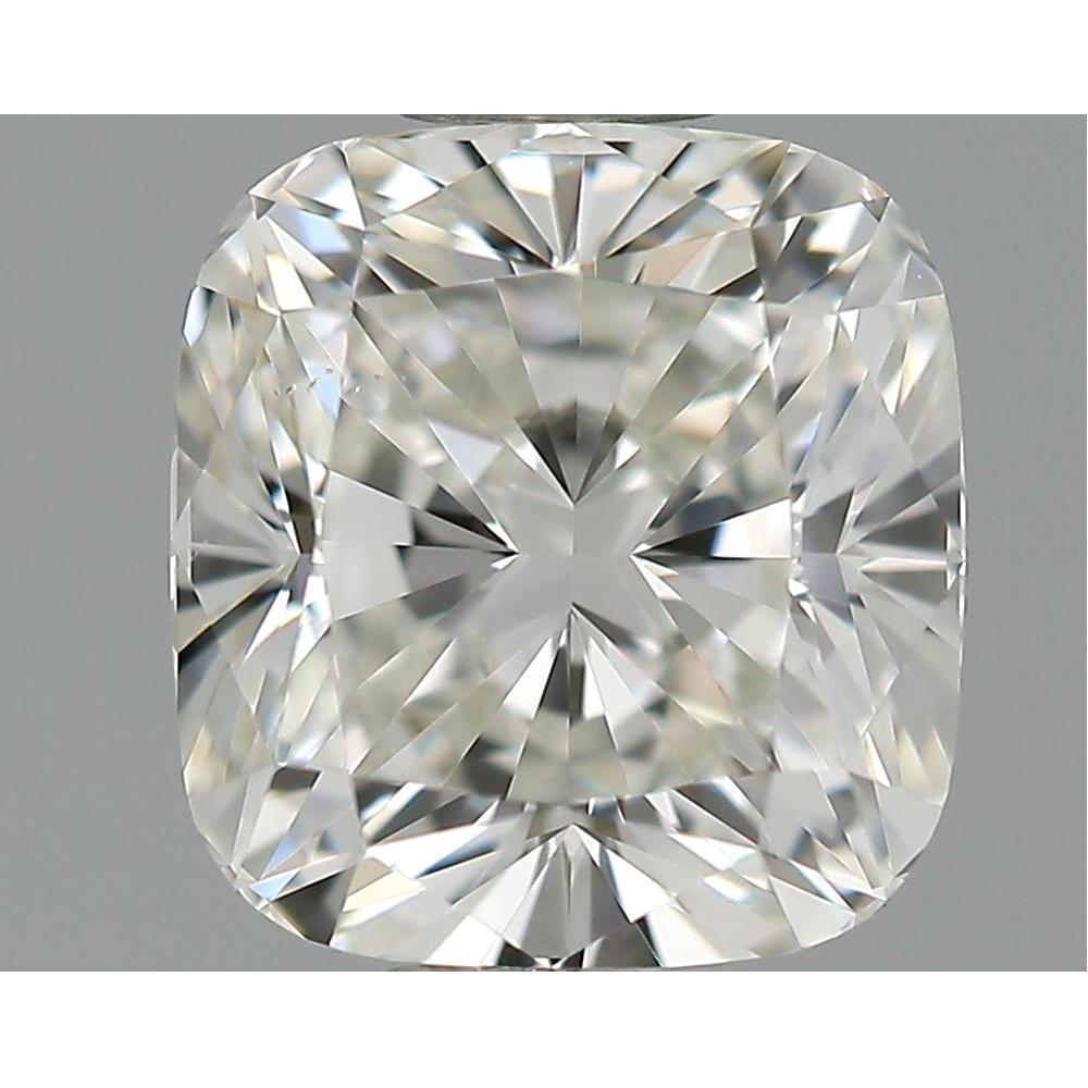 0.90 Carat Cushion Loose Diamond, I, VS2, Excellent, GIA Certified
