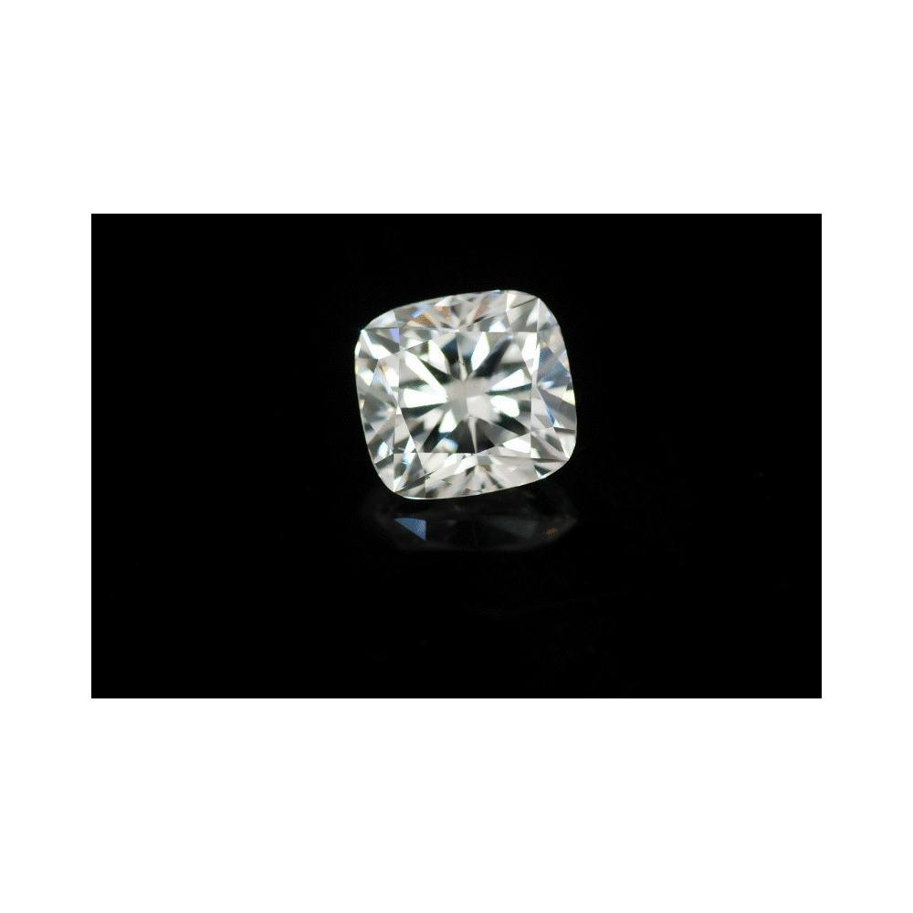 1.50 Carat Cushion Loose Diamond, G, SI1, Ideal, GIA Certified
