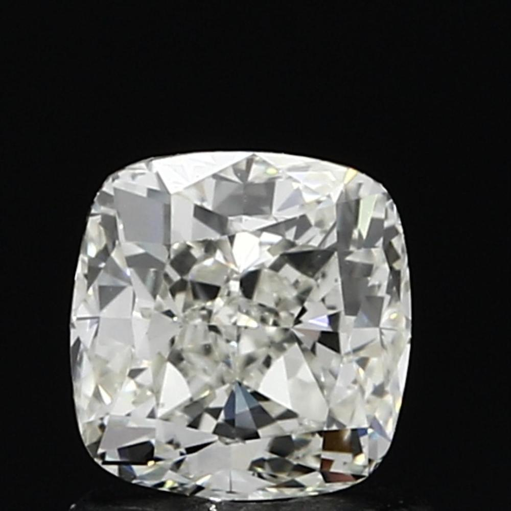 1.00 Carat Cushion Loose Diamond, K, VS1, Ideal, GIA Certified