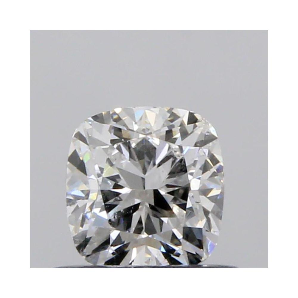 0.50 Carat Cushion Loose Diamond, E, SI2, Excellent, GIA Certified