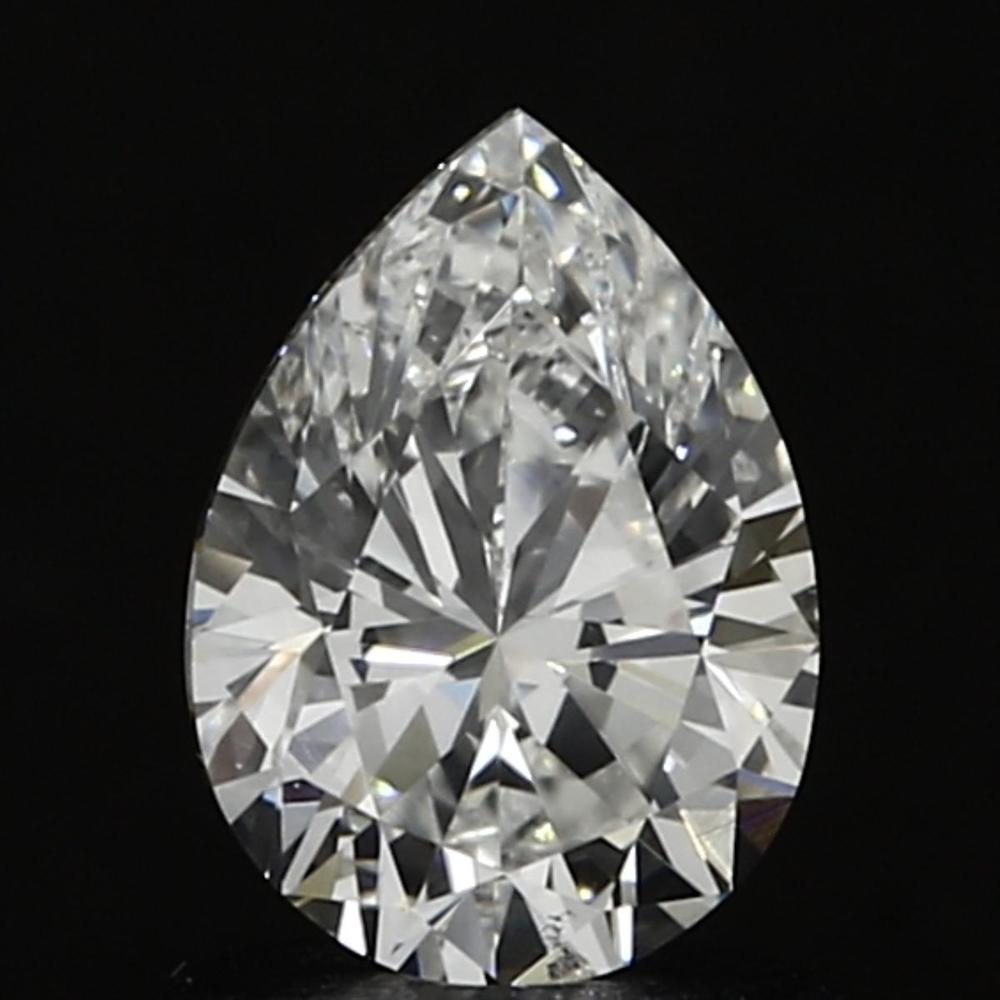 0.90 Carat Pear Loose Diamond, G, SI1, Excellent, GIA Certified