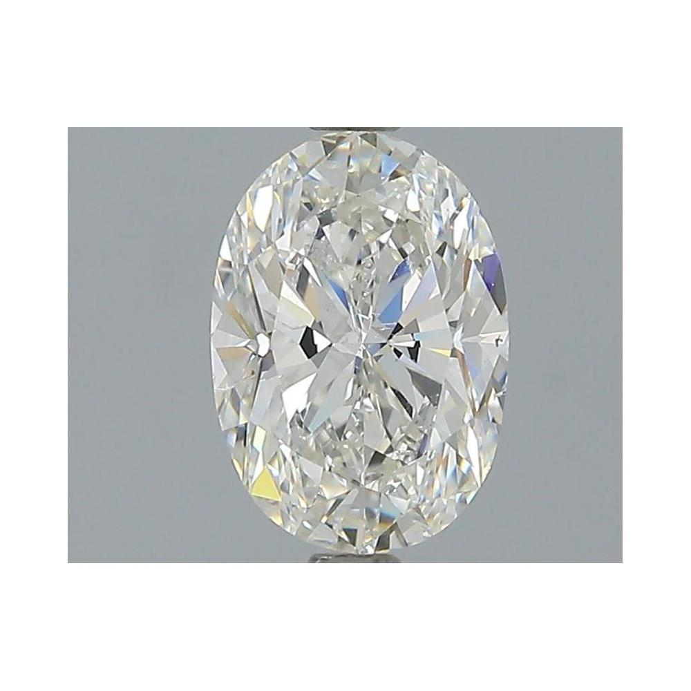 1.50 Carat Oval Loose Diamond, H, SI1, Excellent, GIA Certified