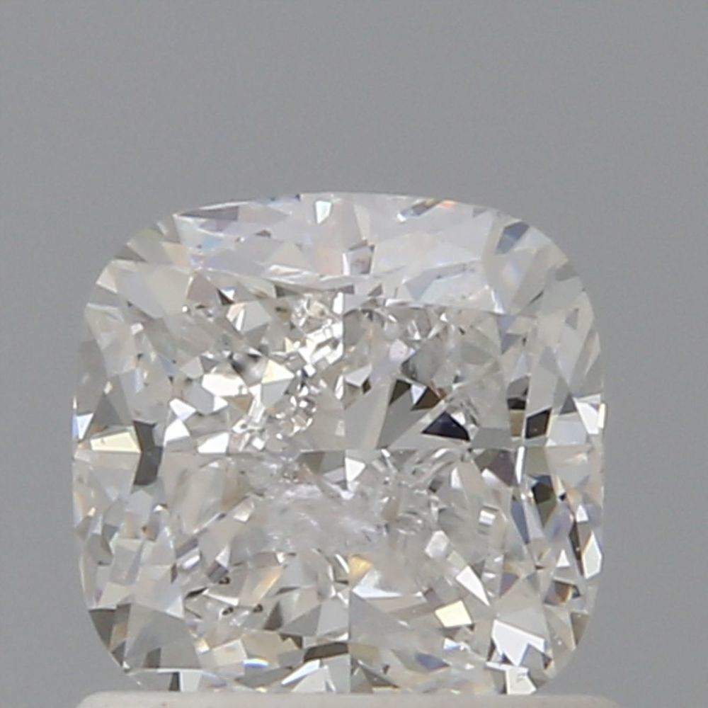 1.00 Carat Cushion Loose Diamond, D, I2, Very Good, GIA Certified | Thumbnail