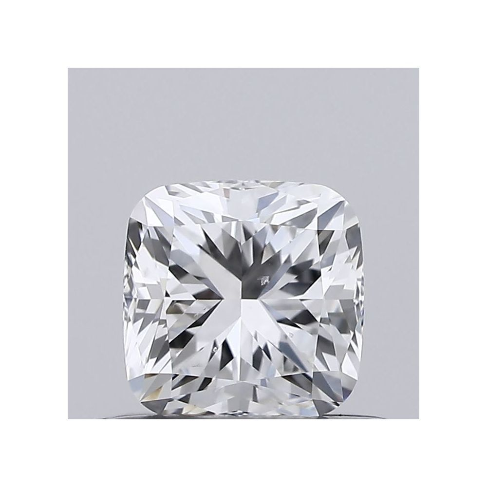 0.41 Carat Cushion Loose Diamond, E, SI1, Excellent, GIA Certified