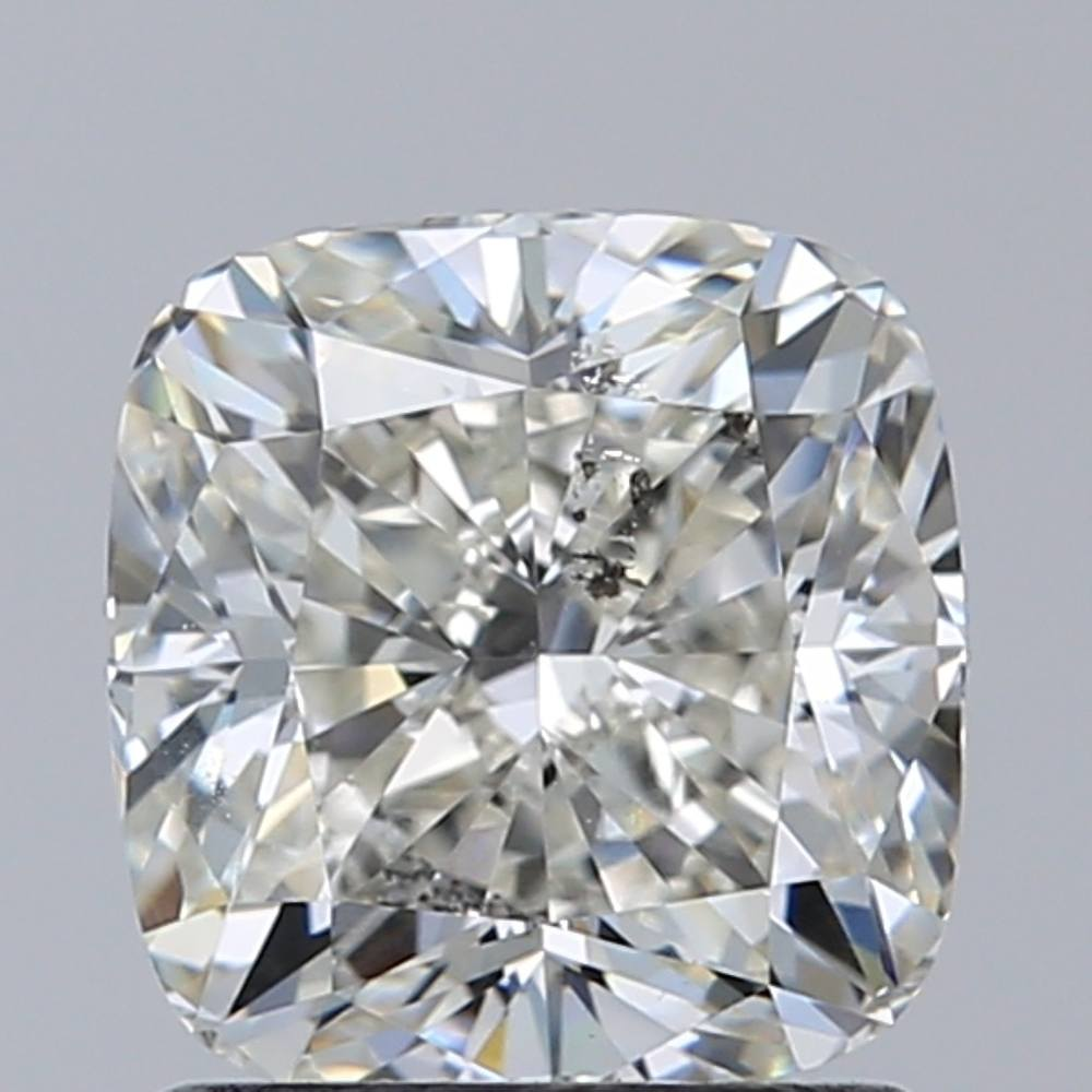 1.50 Carat Cushion Loose Diamond, K, SI2, Excellent, GIA Certified