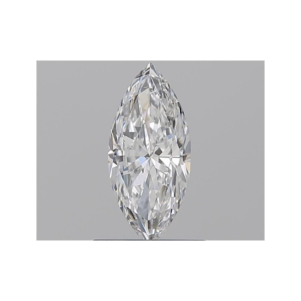 0.50 Carat Marquise Loose Diamond, D, SI2, Super Ideal, GIA Certified