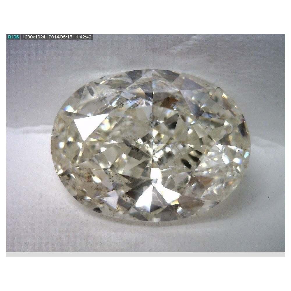 4.01 Carat Oval Loose Diamond, I, SI1, Excellent, EGL Certified