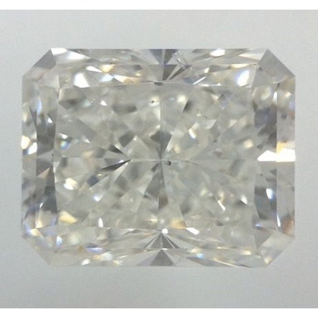 1.81 Carat Radiant Loose Diamond, G, SI2, Super Ideal, AGS Certified